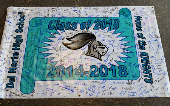 Class of 2018 Finish In Four Banner